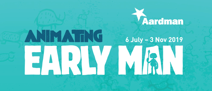 Animating Early Man exhibition