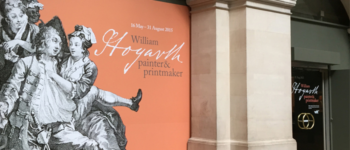 William Hogarth painter and printmaker exhibition