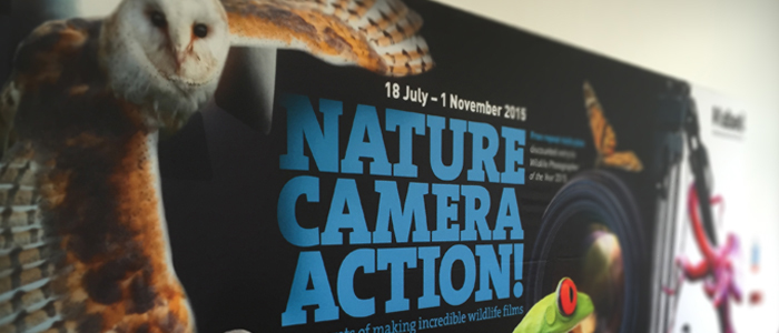 Nature Camera Action exhibition