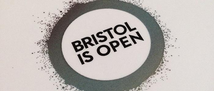 Bristol is Open logo