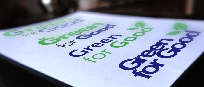 Green for Good logo