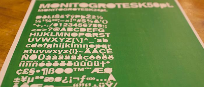 Monito Grotesk font